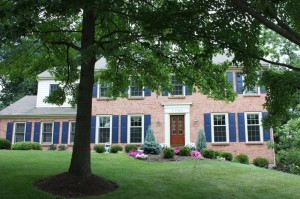 Cincinnati Residential Home with Landscaping